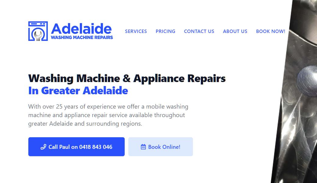 Adelaide Washing Machine Repairs